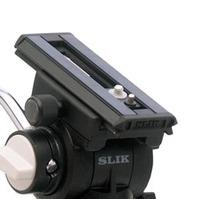 スプリングバランス+オイルフリュードによりスムーズな動きを実現。カメラ取付はクイックシュー方式。