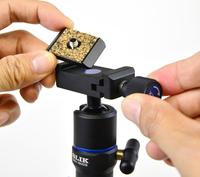 アルカスイス互換のクイックシュー採用、高精度自由雲台「SBH−180 DS」
