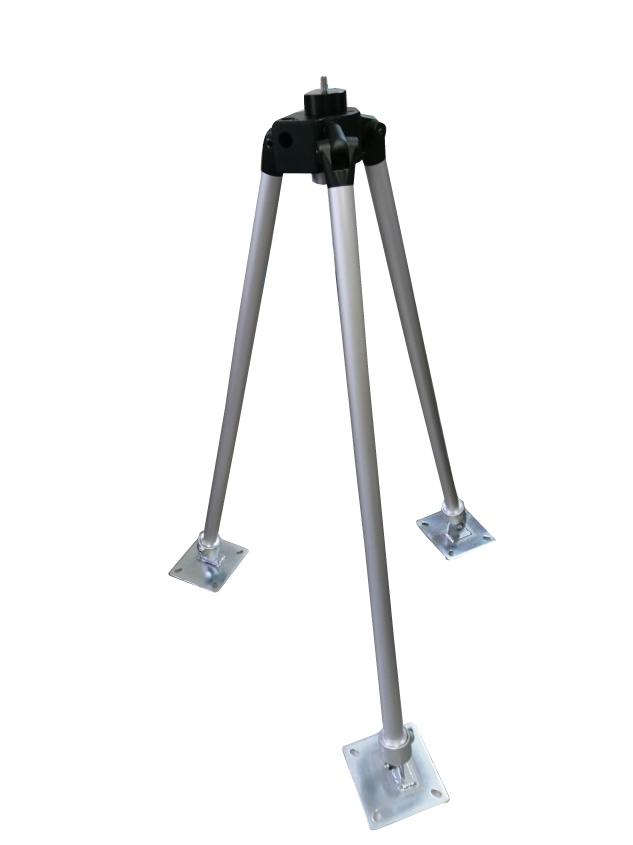 スタム用大型三脚ベース品  屋外用スタンド 耐荷重50kg