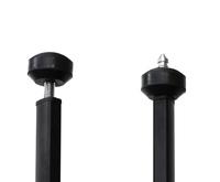 スパイクとゴムの切り替え式の「2ウェイ石突」